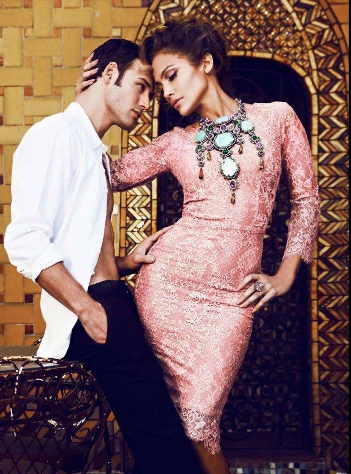 Snapshot: Jennifer Lopez by Steven Gomillion for Latina Magazine February 2015