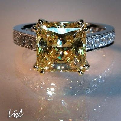 I love canary diamonds <3