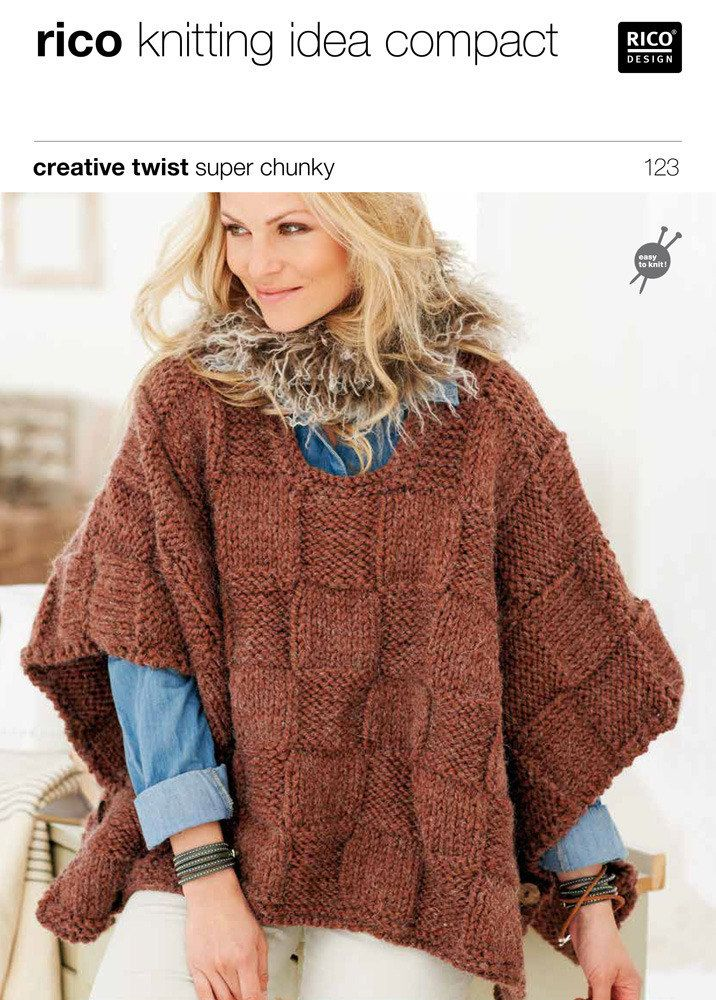 189 best images about Knitting - Poncho on Pinterest Poncho patterns, Free ...