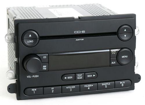 Ford 2008 F250 F350 Super Duty Pickup Radio AMFM 6 Disc CD Player 8C3T-18C815-FA