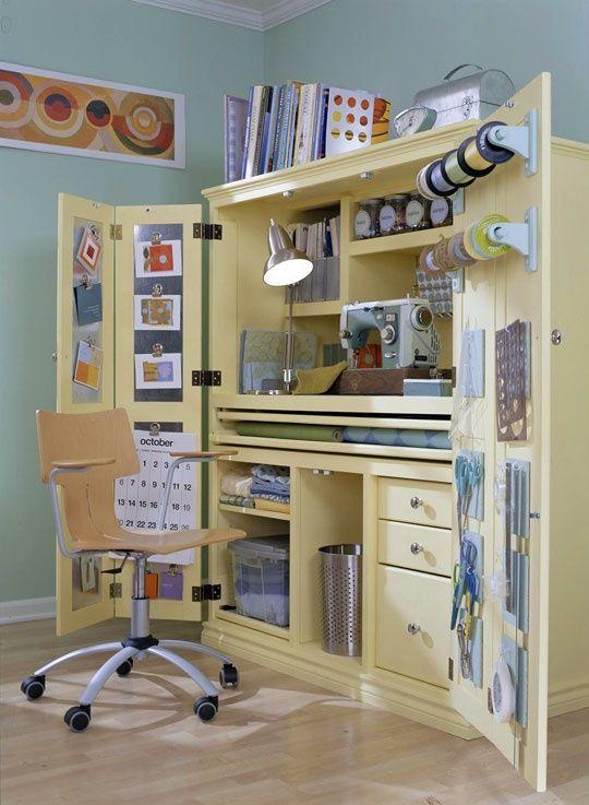 швейный уголок - шкаф
