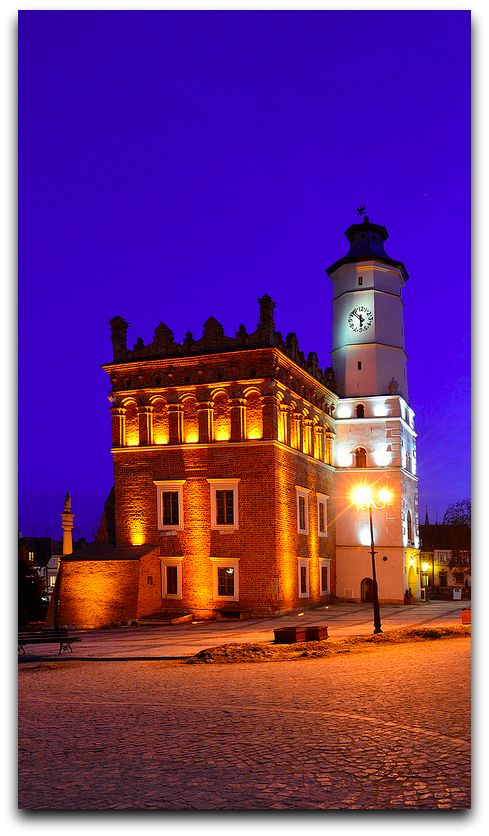 The Town Hall, Sandomierz, Poland