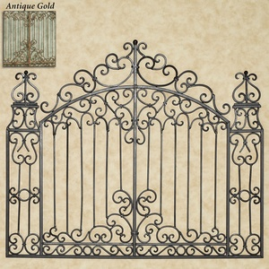 Gates of Tuscany Wall Grille - Gave this one serious consideration but I couldn't figure out how to work with its width vs the bed's width - $199.00