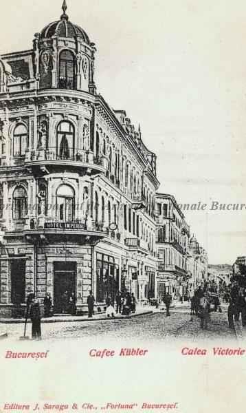 BU-F-01073-5-06355 Cafeneaua Kubler şi Calea Victoriei din Bucureşti, 1880-1900 (niv.Document)