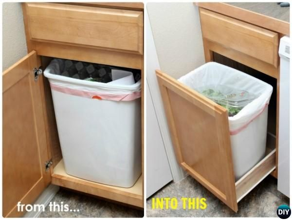 best 25 trash can cabinet ideas on pinterest cabinet trash can diy kitchen cupboard bin and. Black Bedroom Furniture Sets. Home Design Ideas