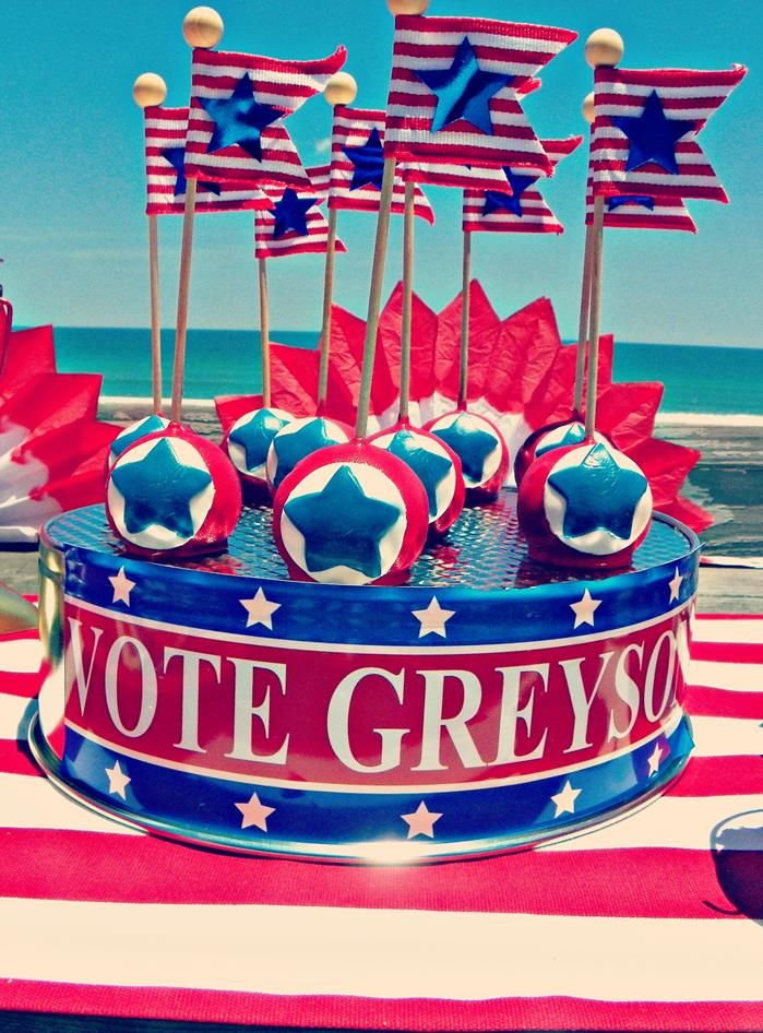 Greyson for President Birthday Party via Kara's Party Ideas | Kara'sPartyIdeas.com #president #party #election #idea (29)