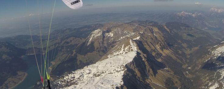 Streckenflug über 245km FAI – Chrigel Maurer