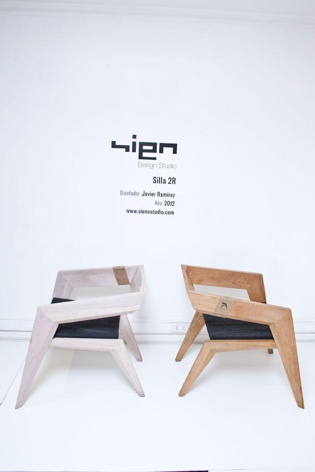 Silla 2R Diseñador: Javier Ramirez Año: 2012