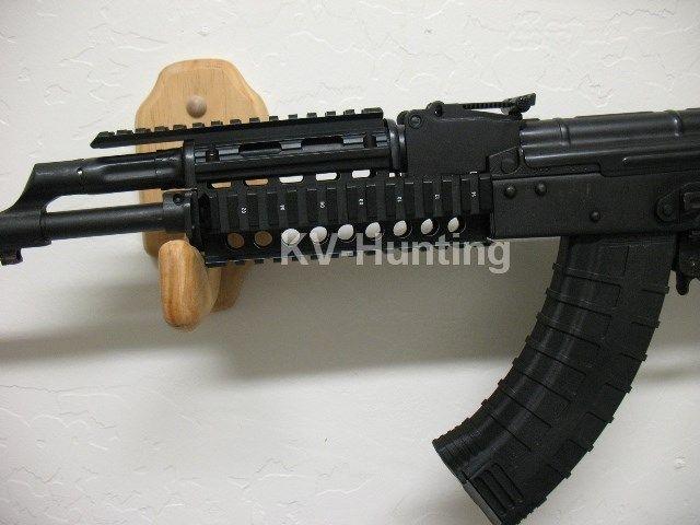 1PC AK 47/74 Tactical Quad Rails Handguard Rail Hunting Shooting Tactical ris Quad Rail rail mount with free 12pcs cover