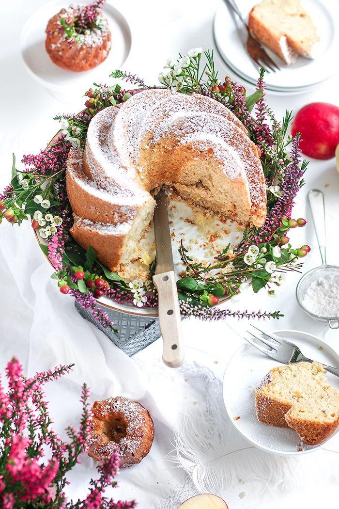 Schneller Apfelmus Gugelhupf Mit Bildern Gugelhupf Rezept Apfelmuskuchen Gugelhupf Ruhrkuchen Mit Apfelmus