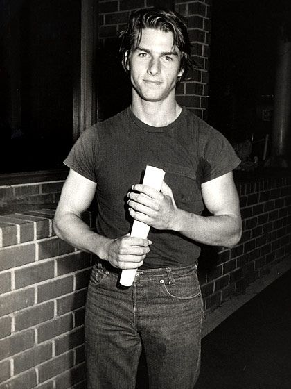 Tom Cruise (1983)  At a Risky Business screening