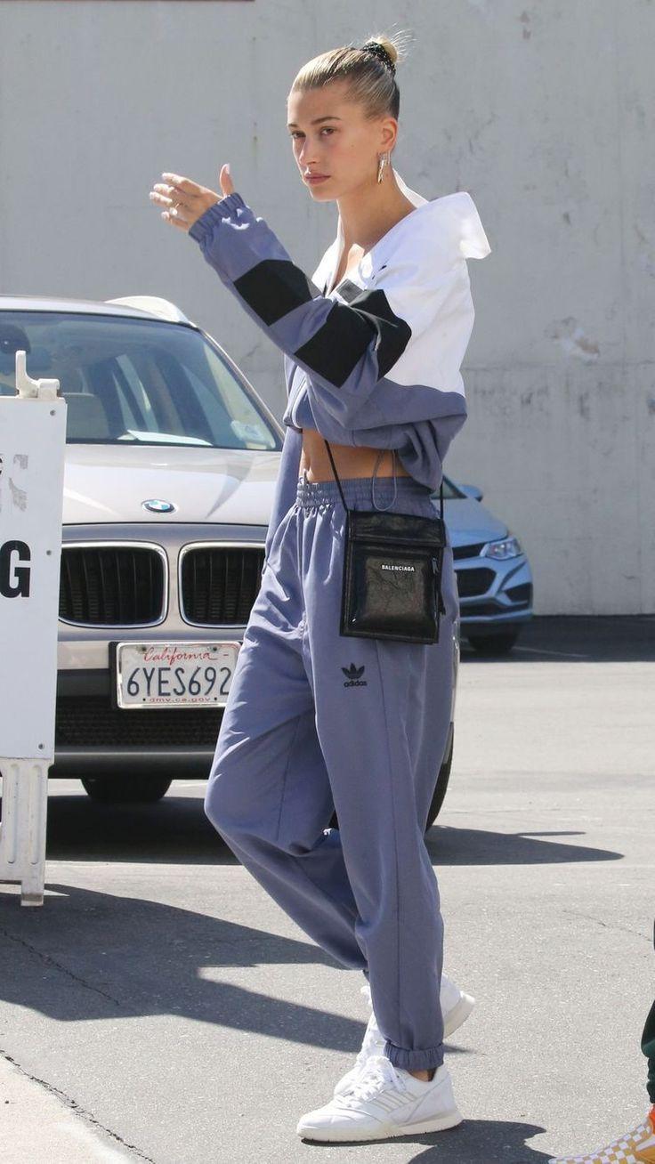 Hailey Bieber Street Style Look
