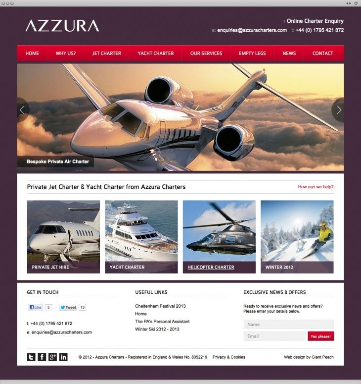 We delved into Azzura's raison d'etre, working closely with them every step of the way.