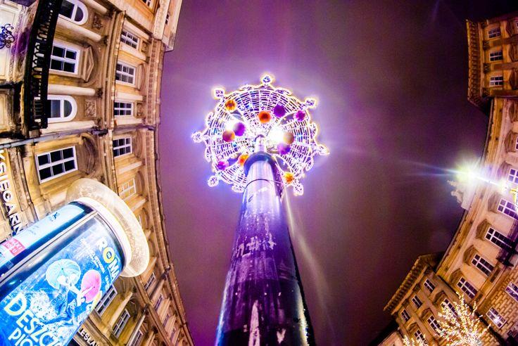 fot. flypics #christmas #christmaslights #Warszawa #Warsaw #street