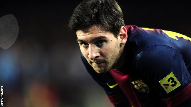 Lionel Messi trails in third in Argentina sports awards - via BBC #Football #News