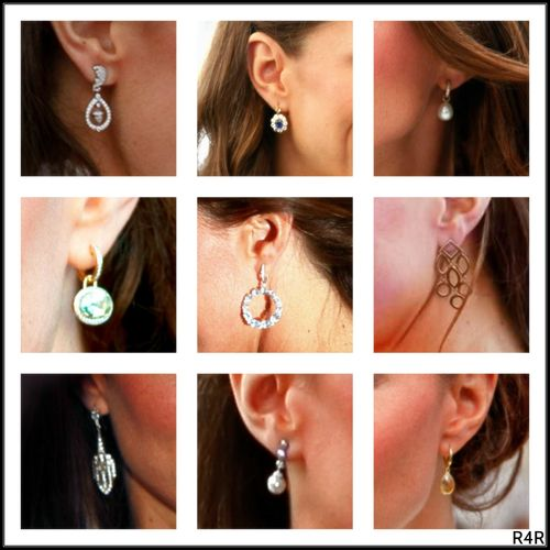 R4R Photo Spotlight:Royal Accessories Catherine's Earrings