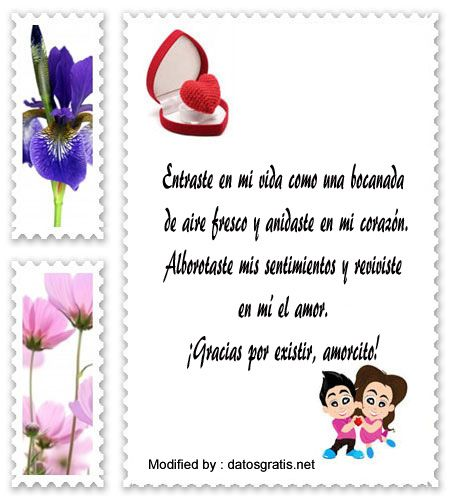 mensajes de texto románticos para mi novio, mensajes románticos para mi novio: http://www.datosgratis.net/increibles-frases-romanticas-para-mi-novio/