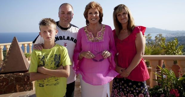 2010s Photograph taken on the set of TV comedy series 'Benidorm'