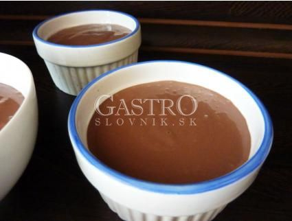 Čokoládovo tvarohový krém