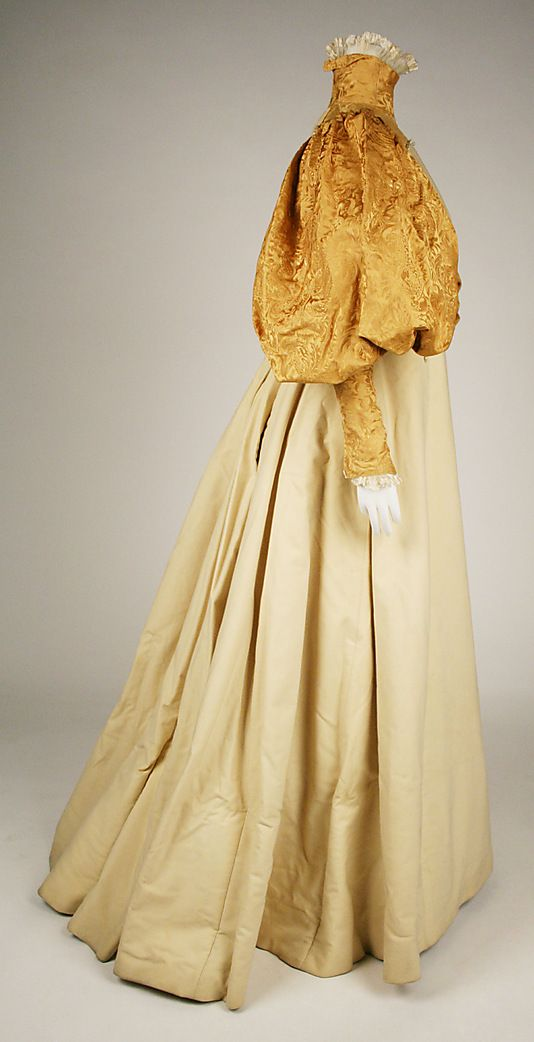 ~Bridesmaid dress House of Worth  (French, 1858–1956) Date: 1896 Culture: American~