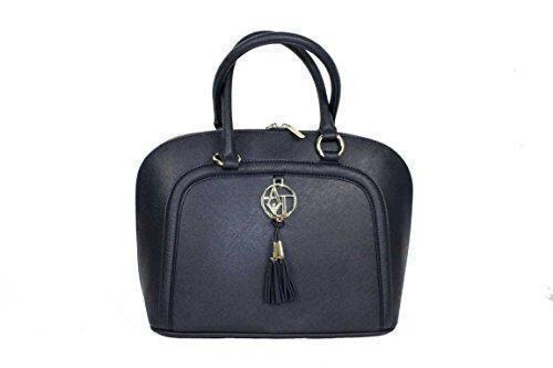 Oferta: 122€. Comprar Ofertas de Armani Jeans 0521Y - Bolso estilo bolera de Material Sintético para mujer Azul azul barato. ¡Mira las ofertas!