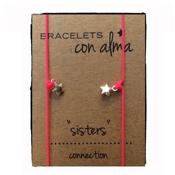 Pulsera conexión hermanas estrella