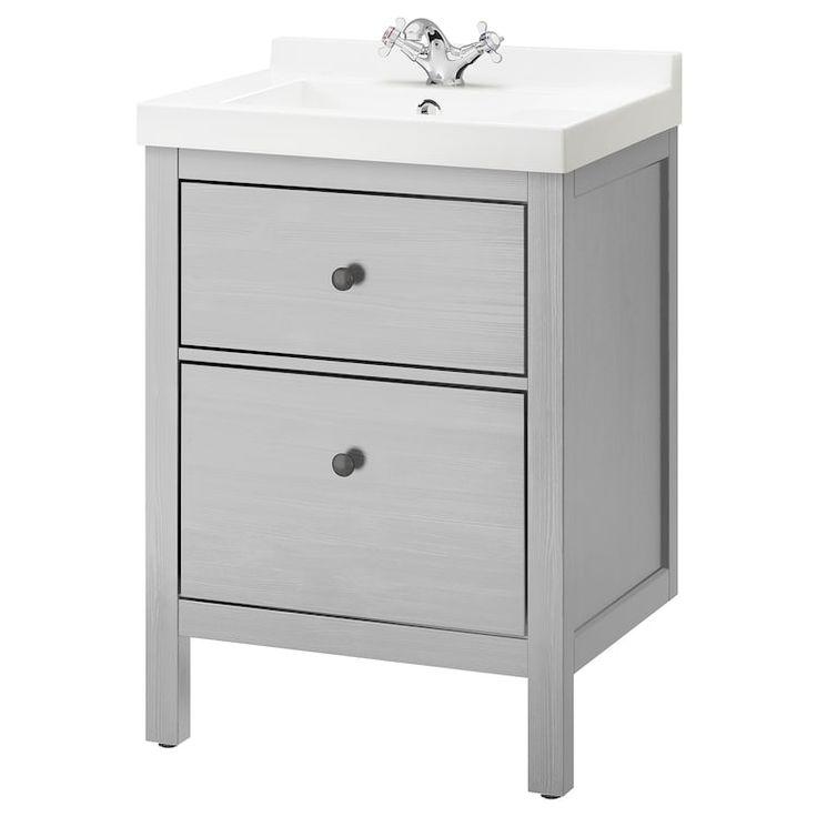 ikea hemnes skottviken sink cabinet with 2 drawers on ikea bathroom vanities id=90811
