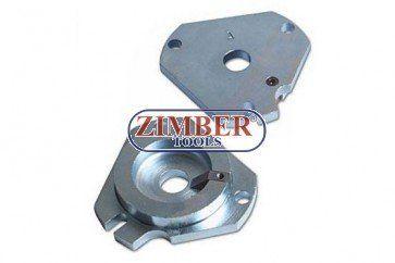 Engine Locking Tools Fiat 1.6 16v, ZR-36ETTS75P - ZIMBER-TOOLS. Engine: 1.6-1995>2007. Fiat Models; Brava, Bravo, Doblo, Multipla, Stilo, Marea, 1995>2007.