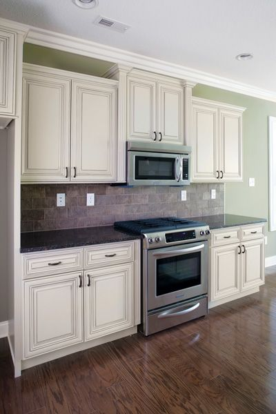 distressed white kitchen cabinets | Heritage Cabinet -Madison White Classic Kitchen  Cabinets