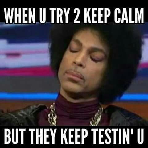 I don't know why Prince memes make me laugh so hard, but they absolutely do.                                                                                                                                                      More