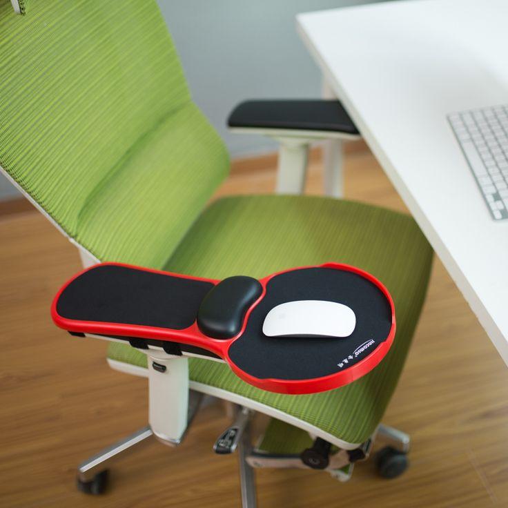 Ergonomic Memory Foam Armrest Mouse Pad Rotatable Adjustable Computer Desk  U0026 Chair Extender Armrest Wrist Rest
