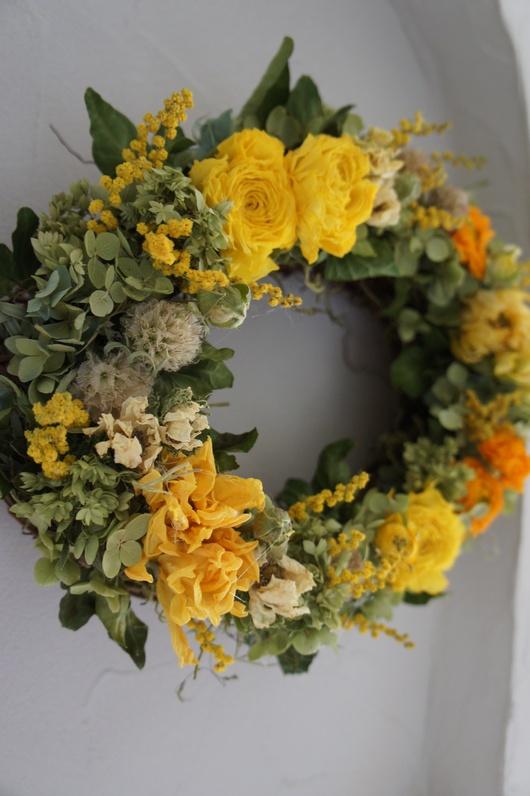 wreath deuxR ~dried flower~ More
