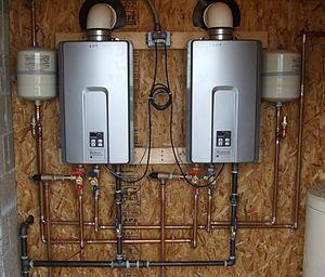 Le chauffe-eau instantané ou sans réservoir