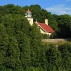 Eagle Bluff Lighthouse in Fish Creek