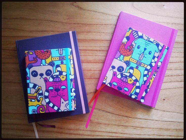 Cuadernos mini y grandes, variedad de colores, por pedidos mandar mail a somosyouandme@gmail.com