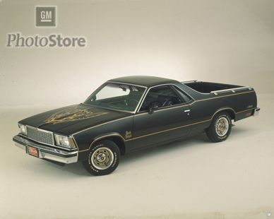 My fourth car was a 1978 Chevy El Camino similar to this one.  I think it had a 302 ci engine but don't quite remember.