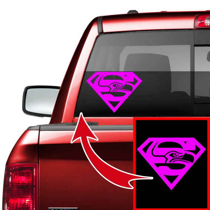 Seahawks super s car truck decal perfect for him
