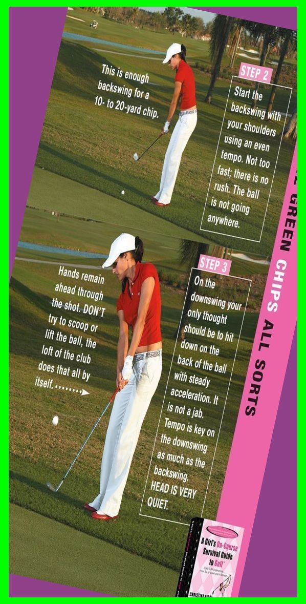 Golf Chipping 6 Steps To Perfect Chip Shots Golf Chipping Game Golf Lessons Golf Pitc In 2020 Golf Chipping Golf Chipping Tips Golf Lessons