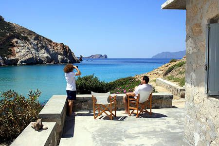 Check out this awesome listing on Airbnb: Our traditional stone beach house in Plathiena beach. #airbnb#milos#cyclades#vacation