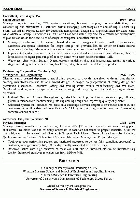 It Manager 4 Resume Examples Sample Resume Templates Manager