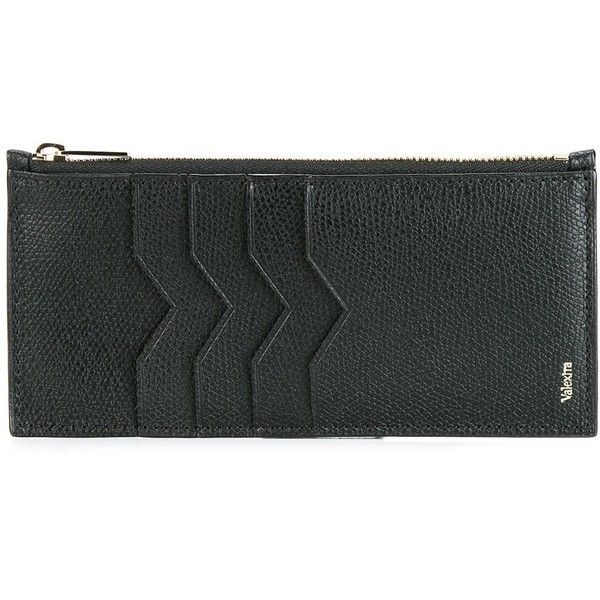 zip detail card case - Black Valextra Free Shipping Get Authentic zUG68v6