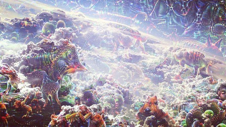 #deepdream #ddream #dream #clouds #art #google #generated #wolken #droom #hemel #kunst #abstract by instazonely