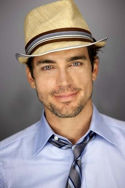 Matt Bomer - his eyes! And why don't mean wear nice hats more often (not just caps)?