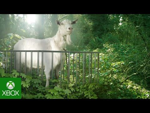 The latest Goat Simulator trailer for Xbox One and Xbox 360 is a Jurassic Park homage - https://www.aivanet.com/2015/04/the-latest-goat-simulator-trailer-for-xbox-one-and-xbox-360-is-a-jurassic-park-homage/