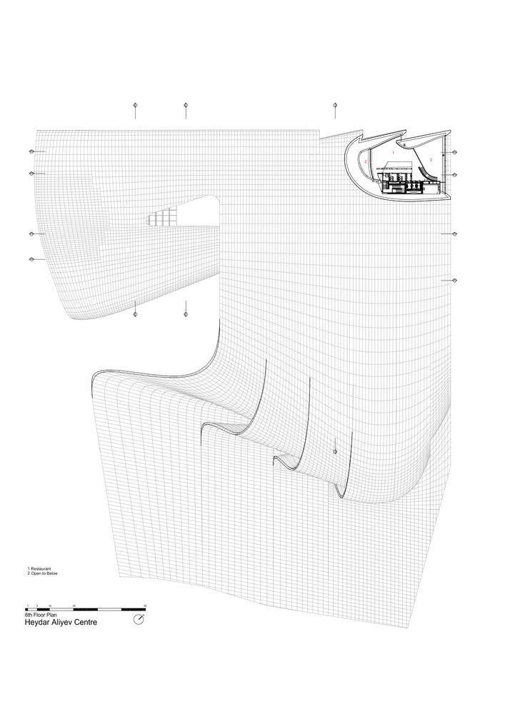 Gallery of Heydar Aliyev Center / Zaha Hadid Architects - 48