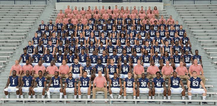 The 2016 Auburn Football Team Picture