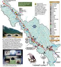 banff national park map - Google Search
