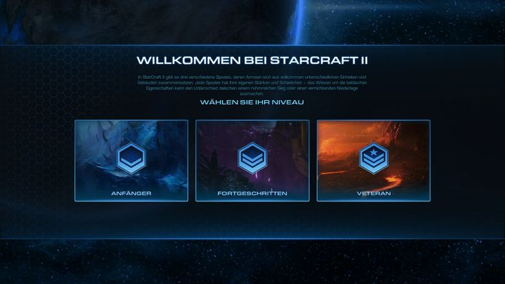You can now select your level at your first login #games #Starcraft #Starcraft2 #SC2 #gamingnews #blizzard