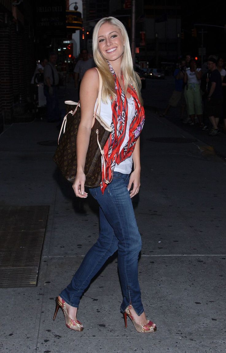 "Pics of: Heidi Montag at the ""Late Show with David Letterman"" in New York City"
