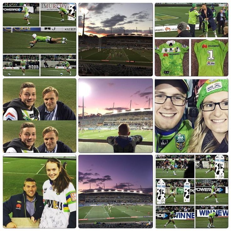 2015 Round 25 #FromAllAngles and #WearGreen Canberra Raiders V Penrith Panthers